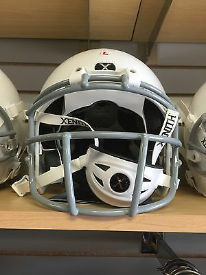 BRAND NEW!!! Xenith X2E White Helmet Gray XRS-21 Mask -YOUTH SMALL RETAIL 169.99