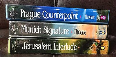 Lot of 3 Bodie Thoene Books Book 2,3, and 4
