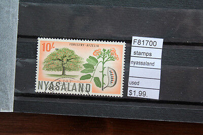 Stamps Nyasaland Used (F81700)