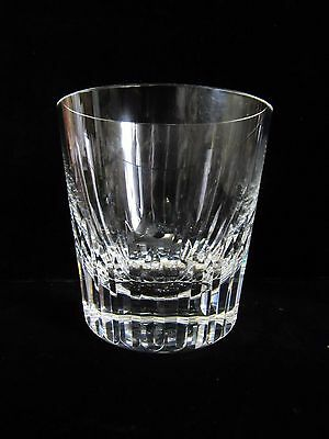 PAIR of Baccarat Double Old Fashioned Glasses  Excellent Condition