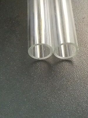 "5 Tubes 5.75_6"" Borosilicate Glass Blowing Tubing 17mm OD 13mm ID Thick Pyrex"