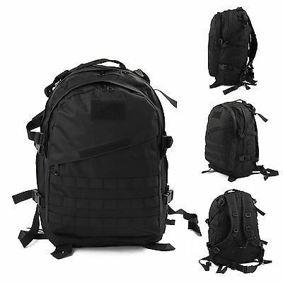 40L Molle 3D Military Tactical Backpack Rucksack Outdoor Camping Trekking Bag