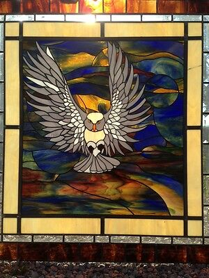 Stained Glass Window - Owl