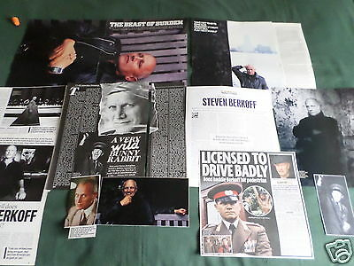 Steven Berkoff - Film Star - Clippings /cuttings Pack