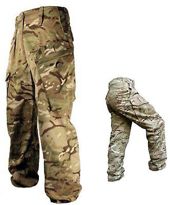 MTP Warm Weather Trousers British Army Surplus Combat Multi Terrain Pattern Camo