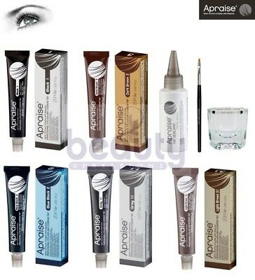 Apraise Dye Eyelash and Eyebrow Professional Tint Lash 15ml Tinting Kit Color