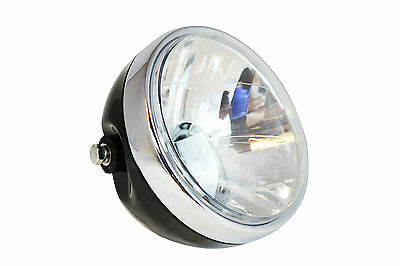 "Headlight for Yamaha XJR1200 XJR1300 Cafe Racer Project 6.5"" Black Steel 12V 35W"