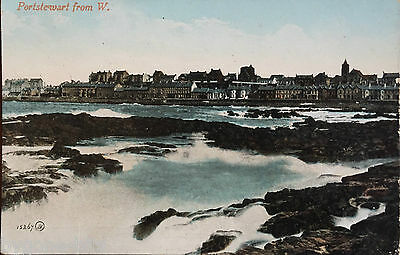 Portstewart from the West Co Londonderry Postcard Northern Ireland 1909