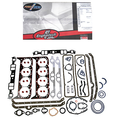 C350-2 Full Gasket Set Gm Chevy 307 327 350 5.7L 1962-1985 2 Piece Seal