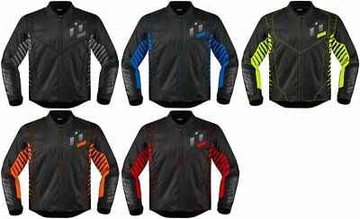 Icon Mens Wireform Armored Textile Jacket