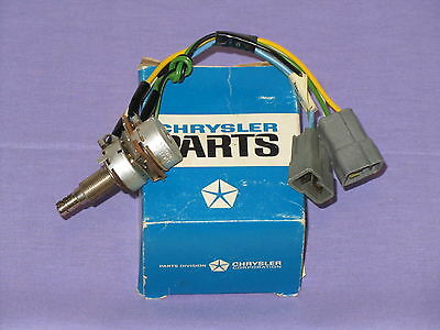 NOS MOPAR 1971 Chrysler and Imperial Headlamp dimmer and Sentinal Switch