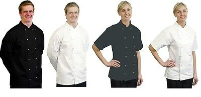 BonChef Danny Unisex Men's Women's Chef Jacket restaurant take away Workwear