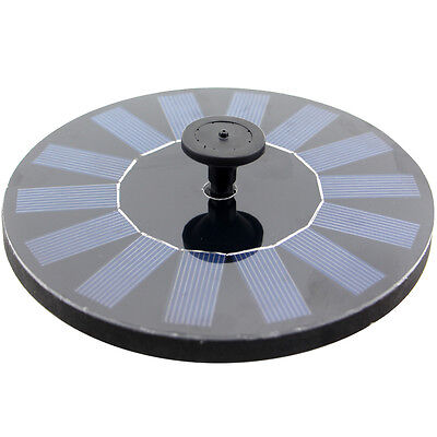 CF002 Floating Solar Fountain for Bird Bath