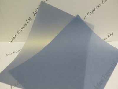 Blueberry Vellum 1-Sided Pearlescent Shimmer Paper A4 200gsm x10 Cardmaking AM71