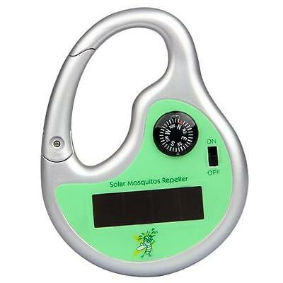 Solar Powered Portable MINI  Mosquito Insect Repellent Repeller Camping Outdoor