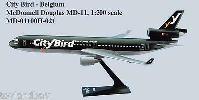 Flight Miniatures CityBird Airlines McDonnell Douglas MD-11 1:200 Scale