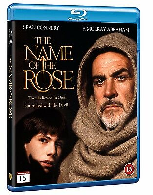 Name of the Rose Blu Ray (Nordic) Region Free