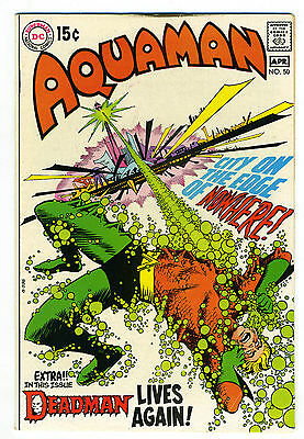 Aquaman #50 VF- 7.5