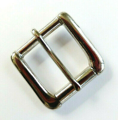 "N - NICKEL  [1-1/4"" - 32 mm] WEST END SINGLE ROLLER BUCKLE Leather craft"
