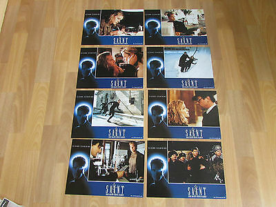 The SAINT Classic Val KILMER Film 1997 Original Foreign LOBBY Card Set