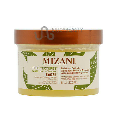 Mizani True Textures Twist and Coil Jelly 8.5oz with Free Nail File