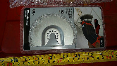 Piranha X26125-XJ 92mm Carbide Disc Grout Removal GOP Cutter PMF Multifunction