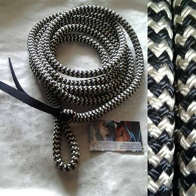 15ft Lead Rope with Loop (no Snap) by Natural Equipment Horsemanship BRAND NEW