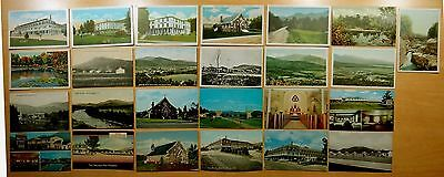 26 Antique & Vintage Postcards ALL TWIN MOUNTAIN, CARROLL, NH New Hampshire