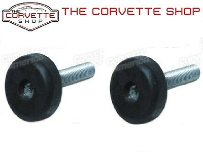 C3 Corvette Seat Back Rubber Bumper Bolt Pair 1970-1978 x35821