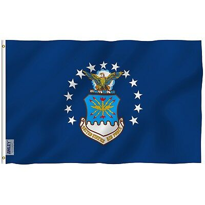 ANLEY Old US Air Force Flag United States Military Banner Polyester 3x5 Flag