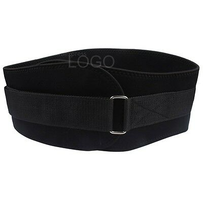 Weight Lifting Belt Gym Waist Support Power Body Training Fitness Tape Lifting