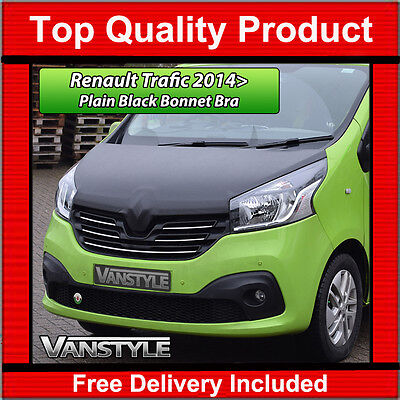 Renault Trafic 2014+ Bonnet Bra Top Quality / Fit Protector Cover Stone Guard