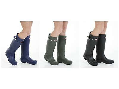 Womens Wellington Work Boots - Quality Gardening Wellies - Sizes 3 - 8 UK