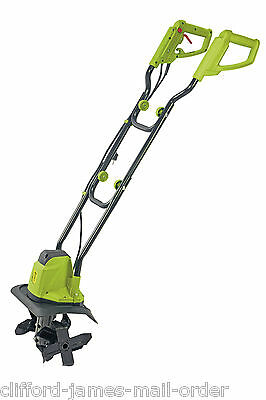 Cultivator Rotovator Electric Tiller Soil Powerful 1050W Motor NEW Garden Gear
