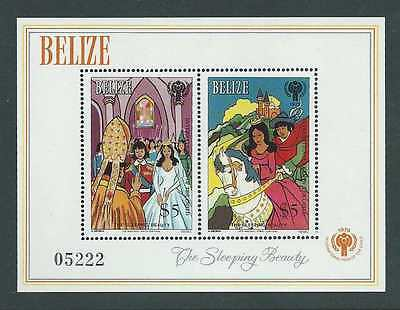 Belize 1980. International Year of the Child. MS mnh