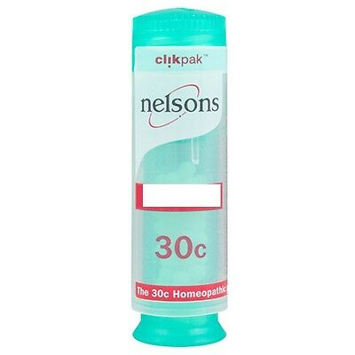 Nelsons Clikpak 30c Homeopathic Remedies *Pick Type*