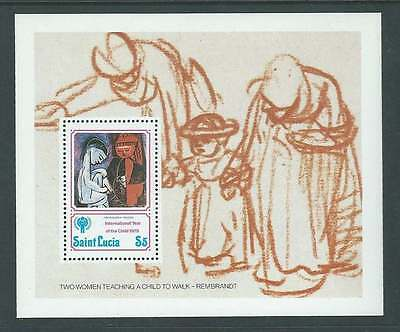 St Lucia 1979. International Year of the Child. SG MS 508 mnh