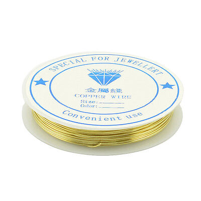 Choose Thickness 1 Reel Coloured Beading Craft Wire Wrapping Sculpting Tiara