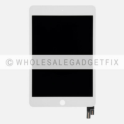 US White iPad mini 4 A1538 A1550 LCD Display Screen Touch Screen Digitizer Glass