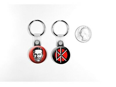 Dead Kennedys Hardcore Punk 'Holiday in Cambodia' Set of 2 Key Chains