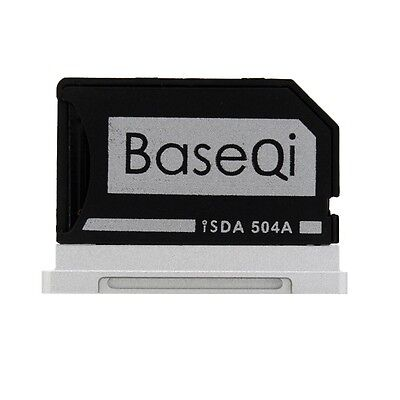"BASEQI Aluminum miniDrive:MicroSD Adapter for Macbook Pro Retina 15 ""(iSDA504A)"