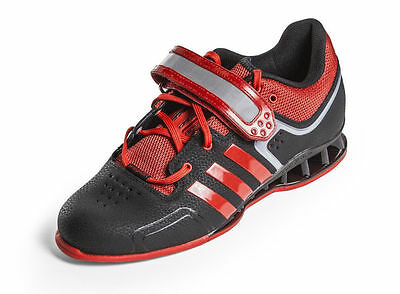 Adidas AdiPower Weight Lifting Shoes Professional Amatuer Black red