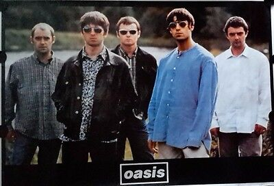 Oasis. Orig.Vintage Giant Poster 38x55 inch.FREE INT.SHIPPING