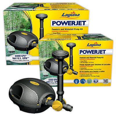 LAGUNA POWERJET Fountain & Water Feature Pond Pump