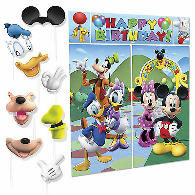 Mickey Mouse and Friends Premium Photo Booth Birthday Party Fun Props Kit