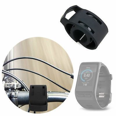 Black Bicycle Handlebar Mount Kit for Garmin VivoActive HR Smart Watch