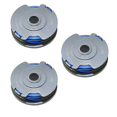 ALM Manufacturing FL289 Spool & Line to Suit Flymo Double Auto FLY021 3 PACK