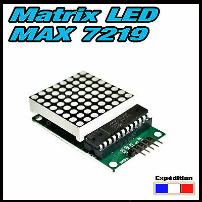5132#  MAX7219 Dot LED Matrix Module MCU LED Display Control Module  Arduino