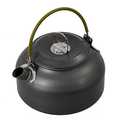 0.8L Portable Outdoor Hiking Camping Survival Water Kettle Teapot Coffee Pot