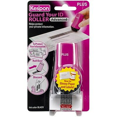 "Plus Corporation GYIDROLL-38312 Kes'pon Guard Your ID Advanced Roller .6"" Pink"